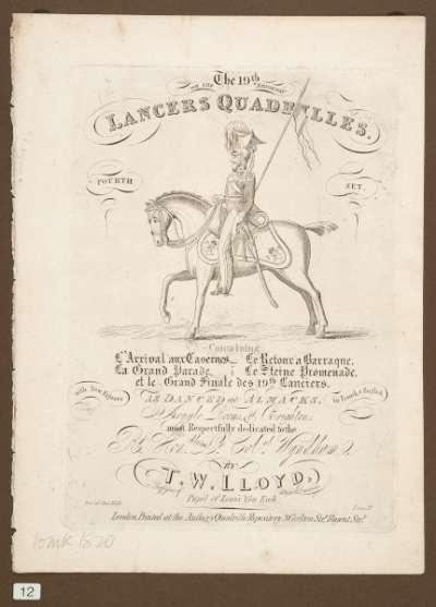 The 19th or Brighton Lancers Quadrilles