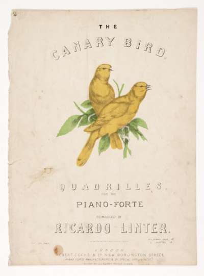The Canary Bird, Quadrilles