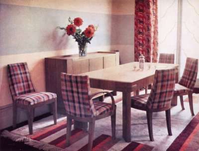 Modern furnishing and decoration