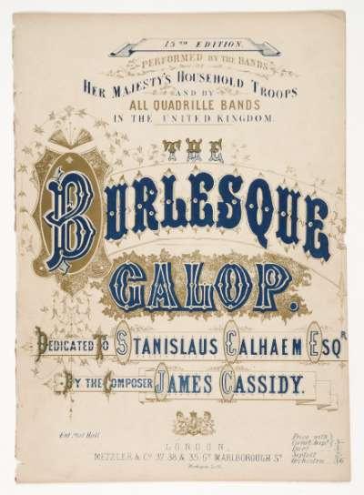 The Burlesque Galop