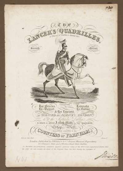 The Lancer's Quadrilles, or Duval's Second Set