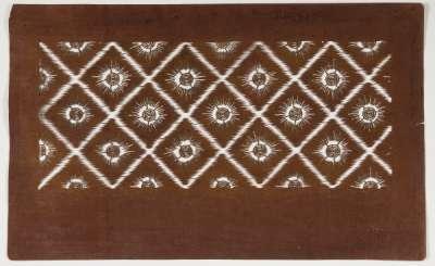 Matsukawabishi pattern with a square rhombus in 'Urumi-gata' style