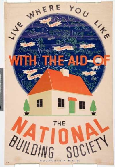 Live where you like with the aid of The National Building Society