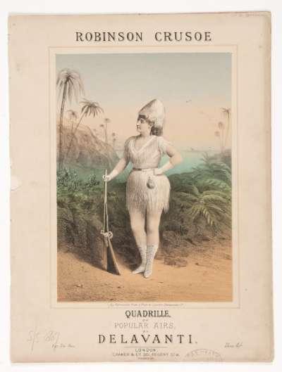 Robinson Crusoe, Quadrille on Popular Airs