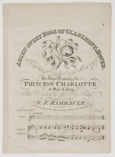 Adieu Sweet Rose of Claremont's Bower