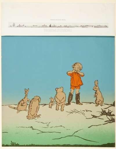 Winnie-the-Pooh Frieze