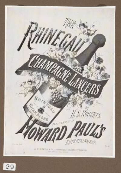 The Rhinegau Champagne Lancers