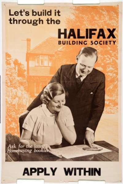 Let's build  it through the Halifax Building Society