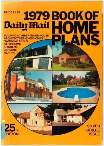 Daily Mail 1979 book of home plans