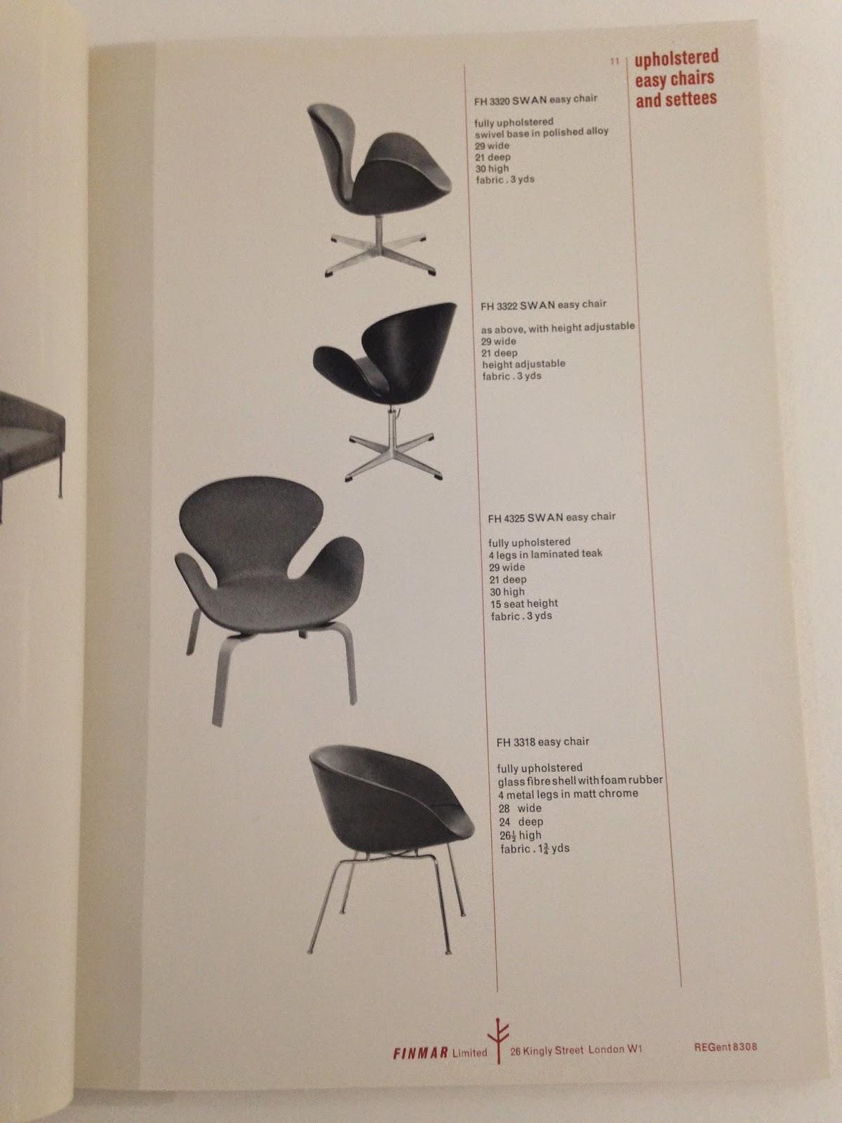 page from 1962 Finmar furniture catalogue, BADDA2789
