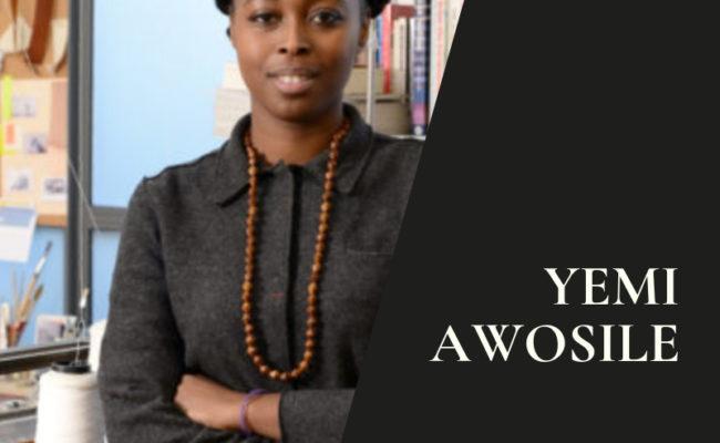 Yemi Awosile: designer-maker