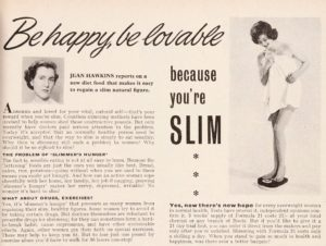 page 27 from good housekeeping may 1955 volume 75 titled be happy be lovable because you're slim