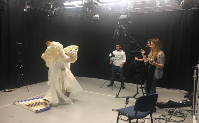 Making Waves: dance rehearsal