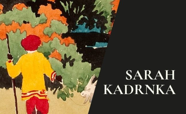 Sarah Kadrnka: illustrations with watercolour