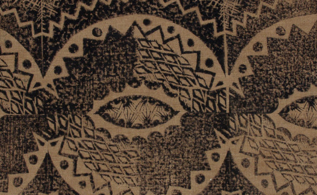 Detail Enid Marx Ogee fabric, 1930