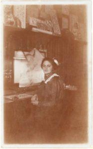 Winifred Mold, around 1912 (Silver Studio Archive)