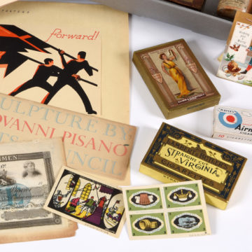 a selection of ephemera from our collection