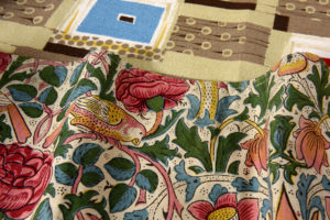 selection of textiles from the collection