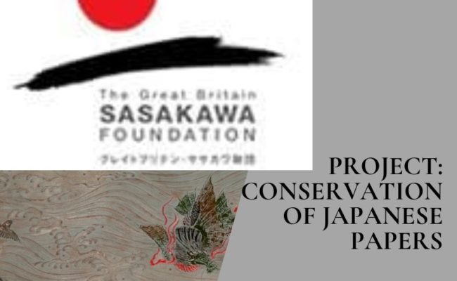 (2007) Funded Conservation: Japanese materials