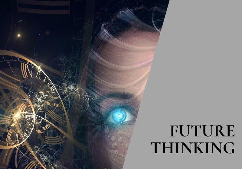 image and label indicating future thinking