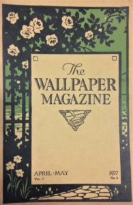 Wallpaper Magazine, April-May 1927
